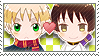 APH Checkered AsaKiku Stamp by megumimaruidesu