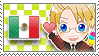 APH Checkered MexUS Stamp by megumimaruidesu