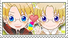 APH Checkered AmeCan Stamp by megumimaruidesu