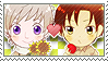 APH Checkered Rusmano Stamp by megumimaruidesu