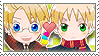 APH Checkered USUK Stamp by megumimaruidesu