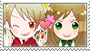 APH Checkered RomHun Stamp by megumimaruidesu