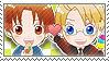 APH Checkered ItaAme Stamp by megumimaruidesu