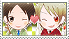 APH Checkered BulRom Stamp by megumimaruidesu