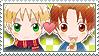 APH Checkered EngIta Stamp by megumar