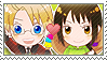APH Checkered AmeViet Stamp by megumar