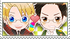 APH Checkered AmeMolo Stamp by megumar