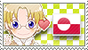 APH Checkered CanGreen Stamp by megumimaruidesu