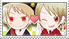 APH Checkered PruRom Stamp by megumimaruidesu