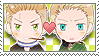 APH Checkered NethGer Stamp by megumimaruidesu