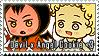 Devil x Angel Cookie Stamp by megumimaruidesu