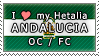 APH I love my Andalucia OC Stamp by megumimaruidesu