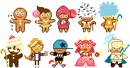 Cookie Run pixels by megumar