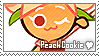 Peach Cookie Stamp by megumar