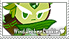 Wind Archer Cookie Stamp by megumar