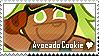 Avocado Cookie Stamp by megumar