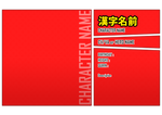 [F2U] PSD DOWNLOAD - BNHA Character Template