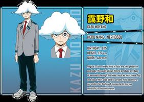 Moyano Kazu - BNHA OC