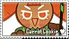 Carrot Cookie Stamp by megumar