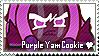 Purple Yam Cookie Stamp