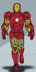 Iron Man by anotakuami