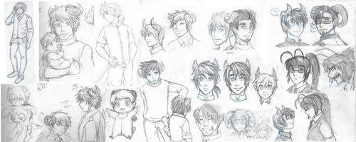EoD Sketches by anotakuami