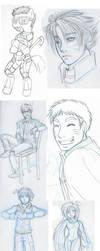 Random Sketches by anotakuami