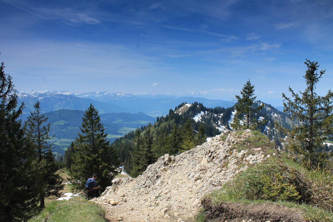 Gratwanderung am Hochgrat by Streetydriver
