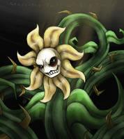 Flowey the flower by cross-the-swirl