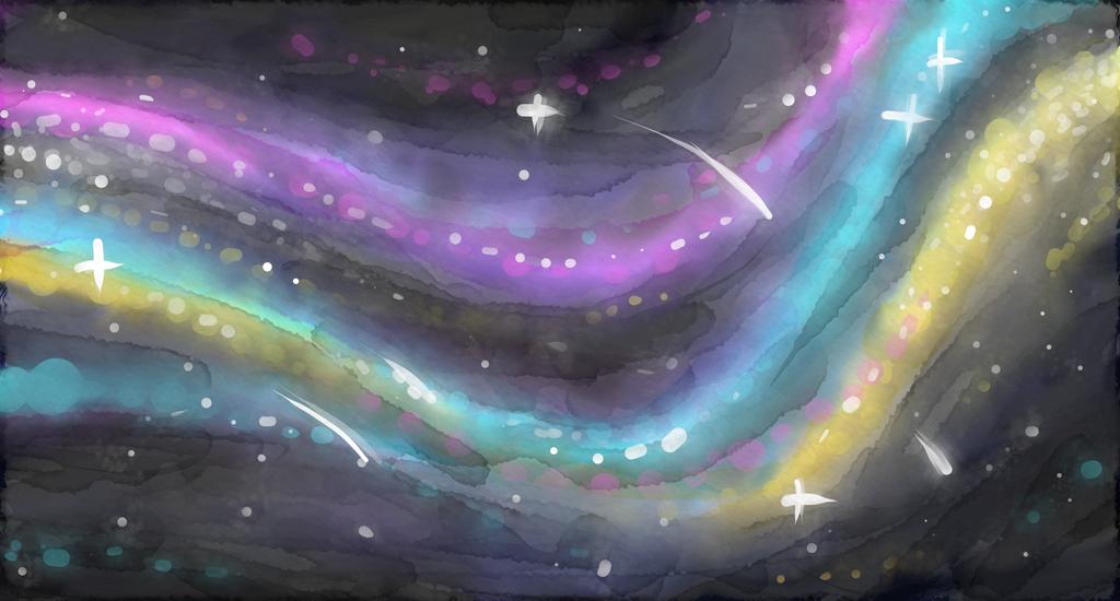 Galaxy by cross-the-swirl