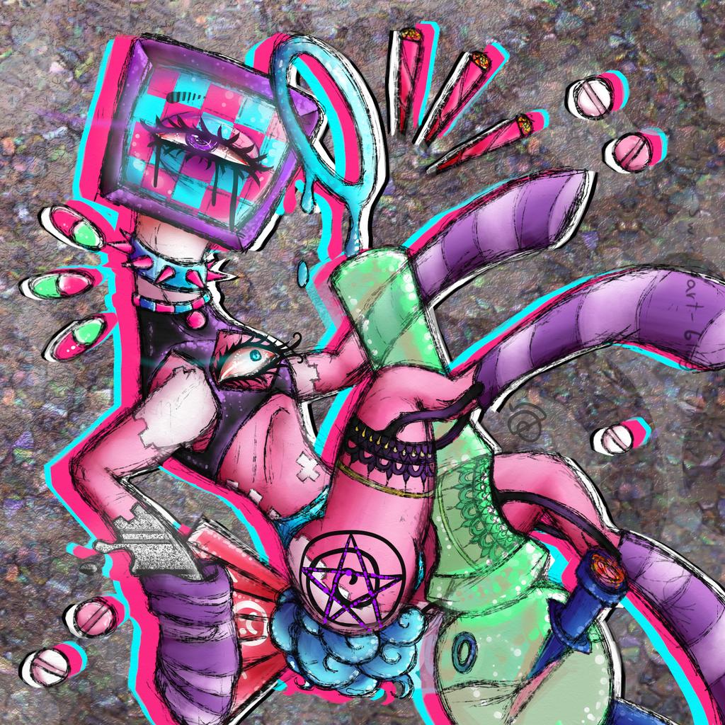 Smokepony by cross-the-swirl