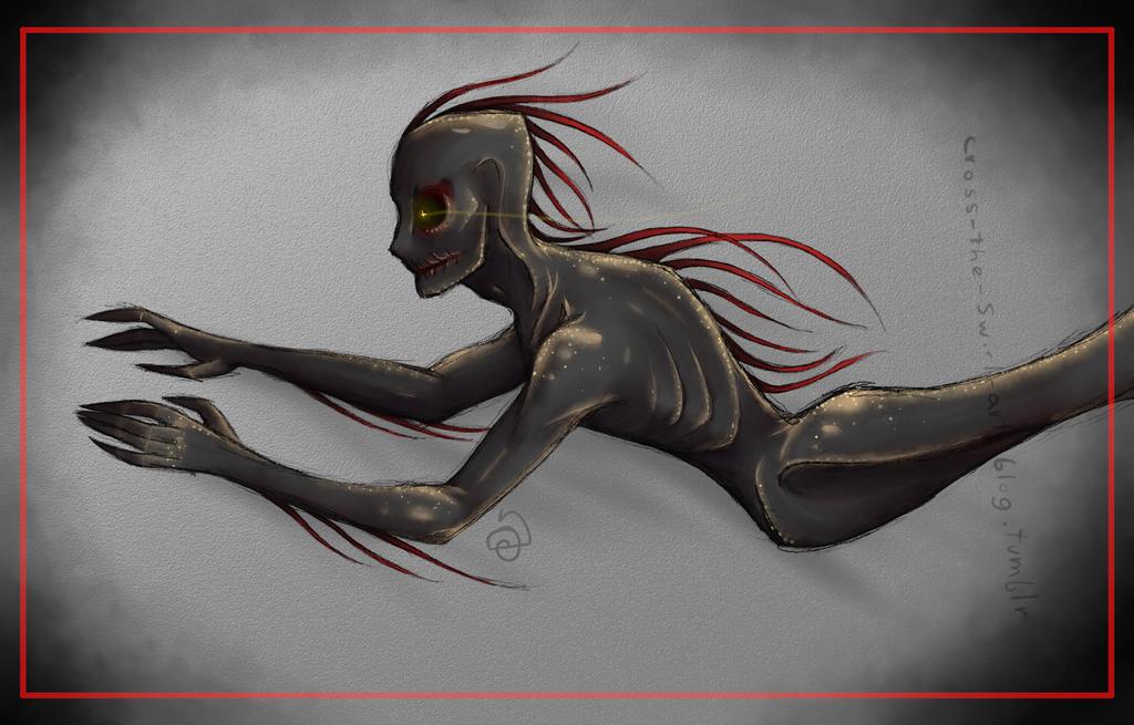 Dream monster redraw. by cross-the-swirl
