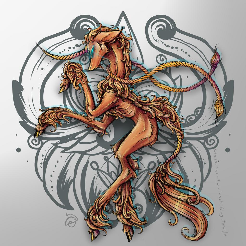 Unicorn by cross-the-swirl