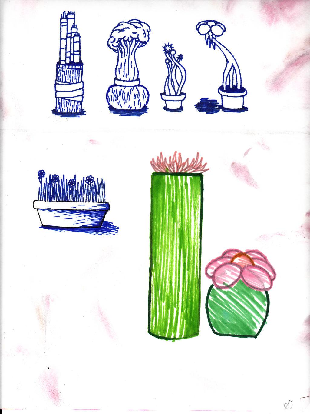 Plants by cross-the-swirl