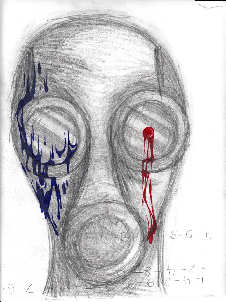 Gas Mask by cross-the-swirl