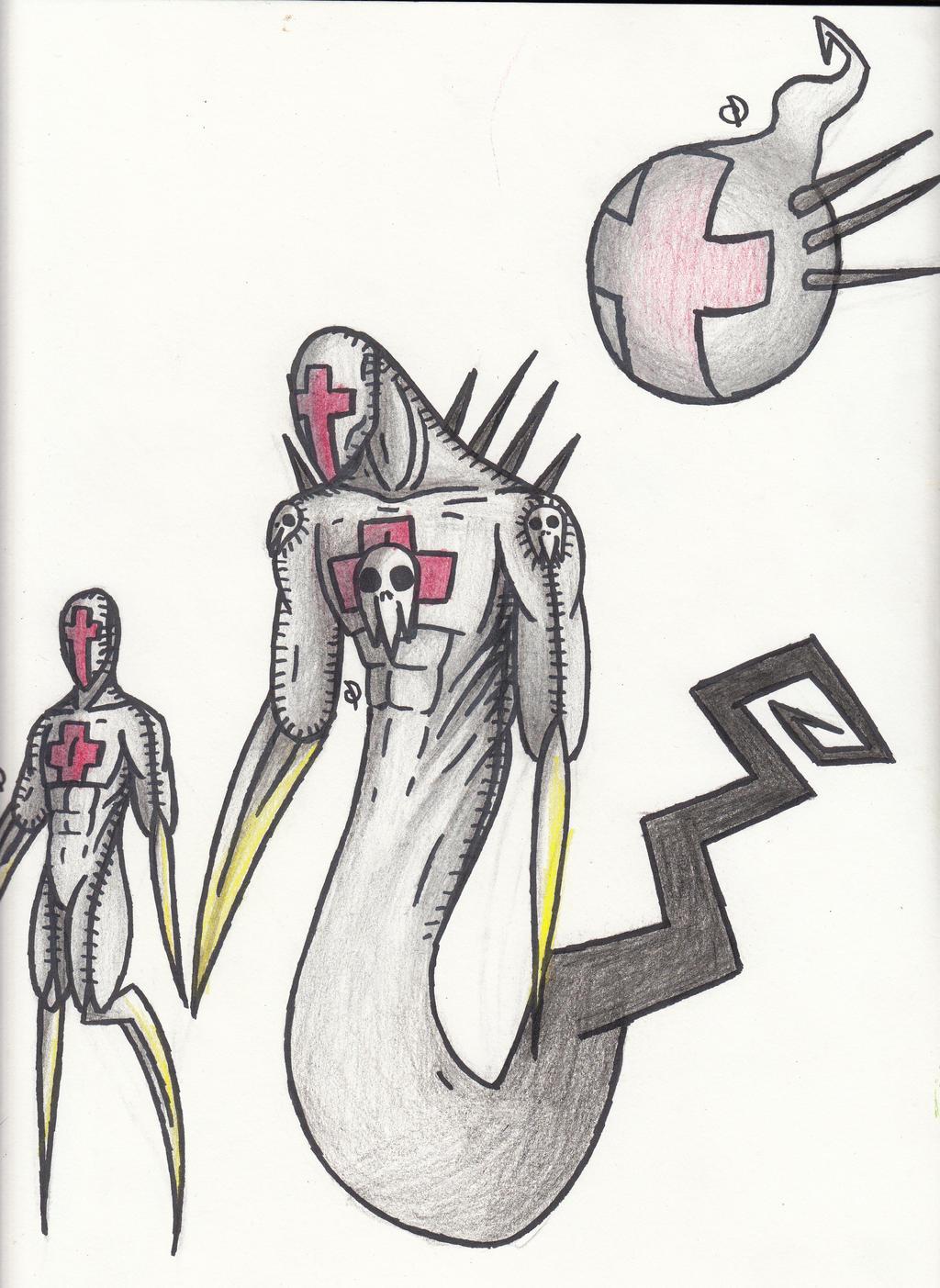 Ghost Cross by cross-the-swirl