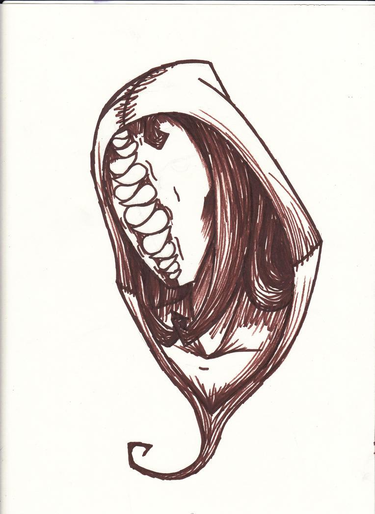 Teeth Face by cross-the-swirl