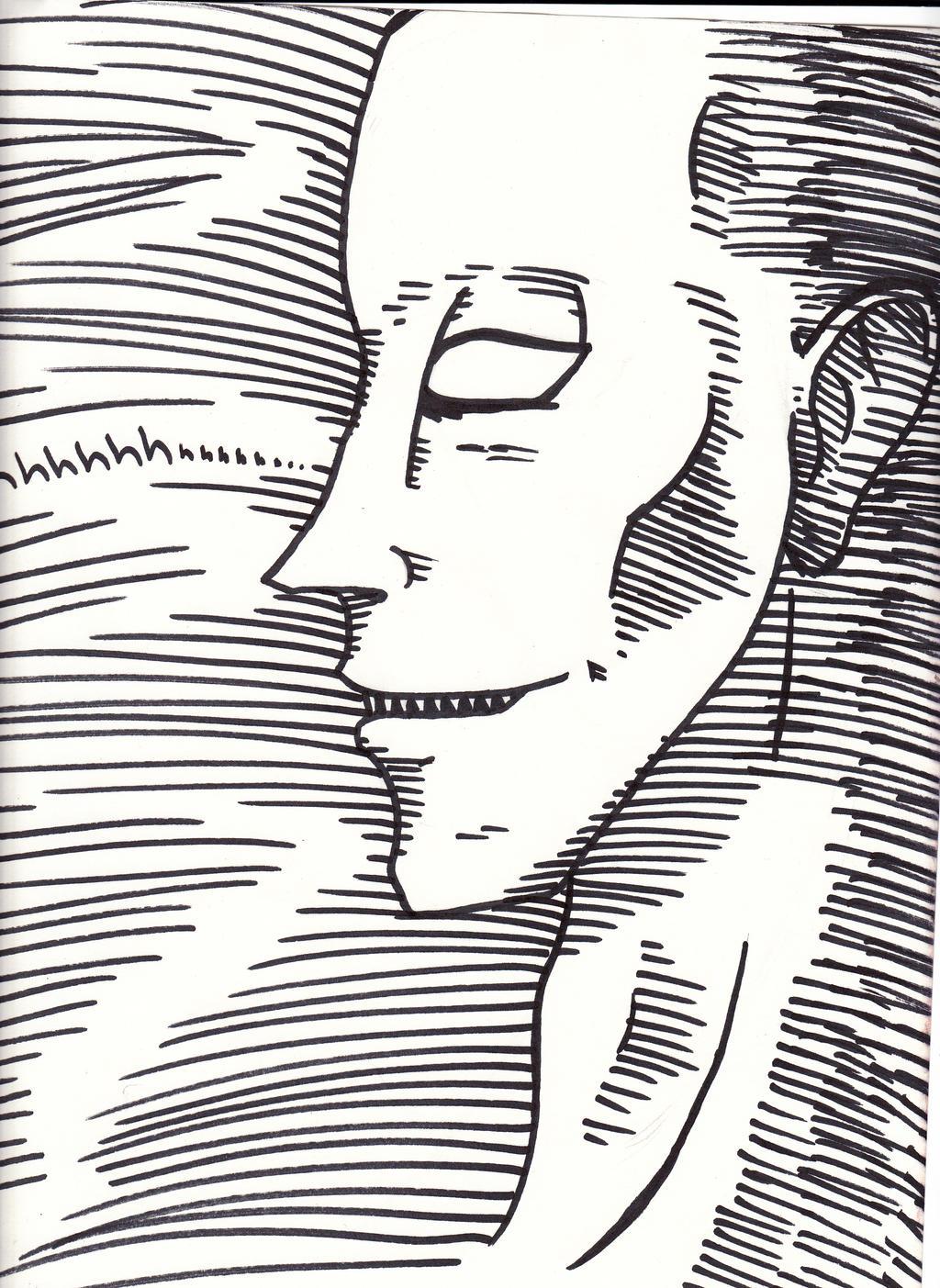 Creepy Man by cross-the-swirl