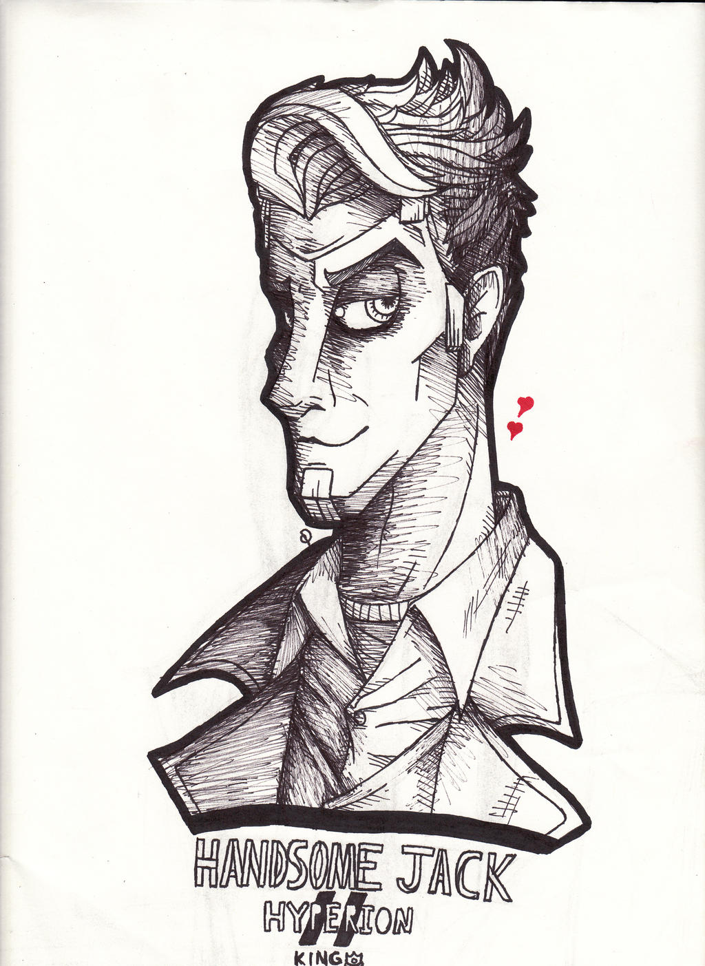 Handsome Jack by cross-the-swirl