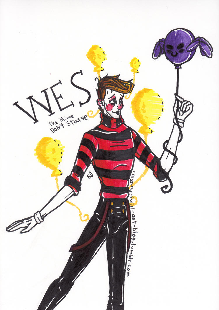 Wes The Mime by cross-the-swirl