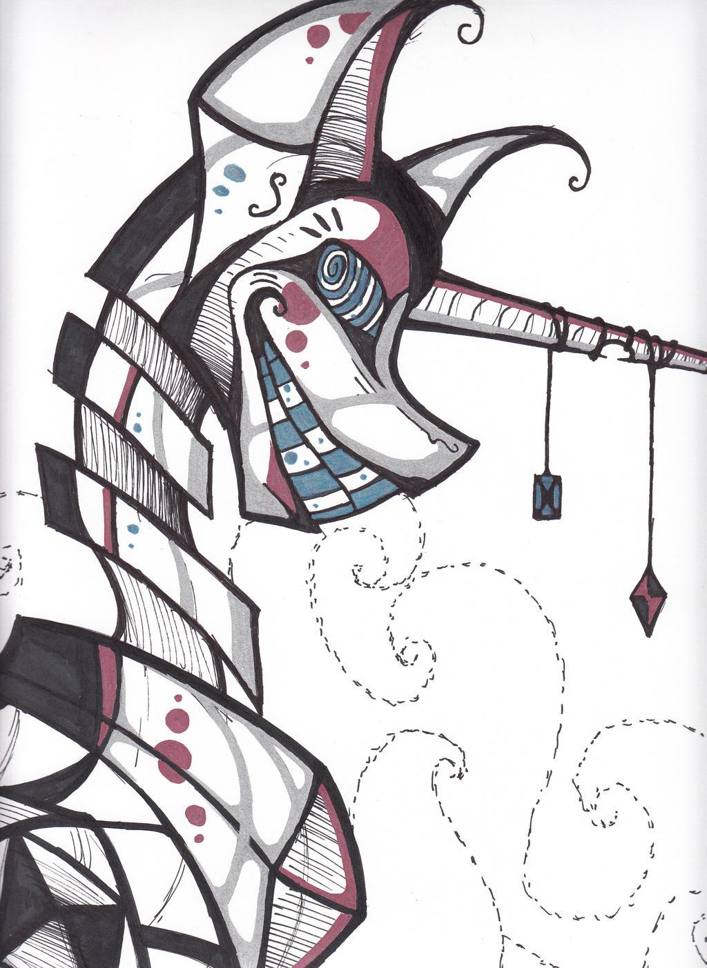 Robot Ponyyyy by cross-the-swirl