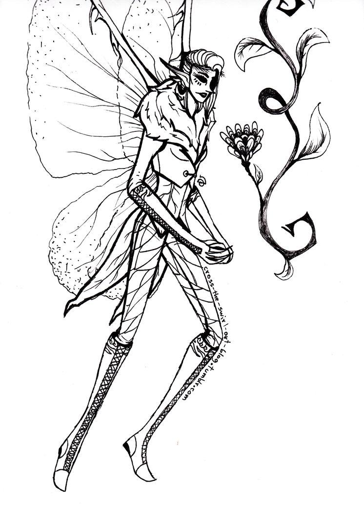Fairy by cross-the-swirl