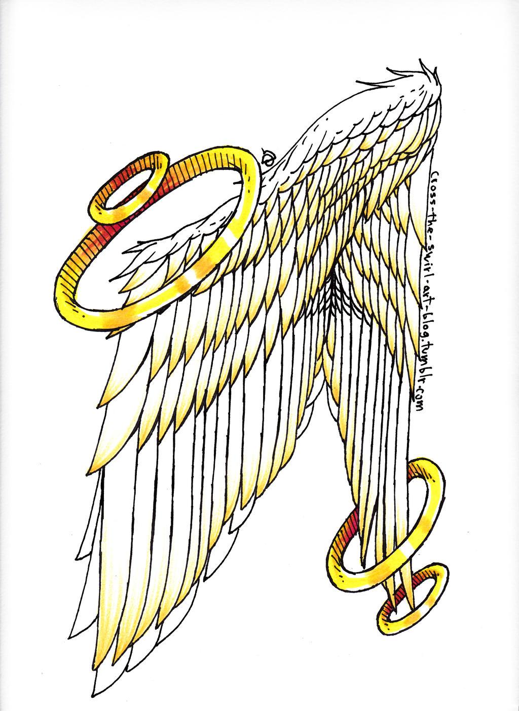 Wings by cross-the-swirl