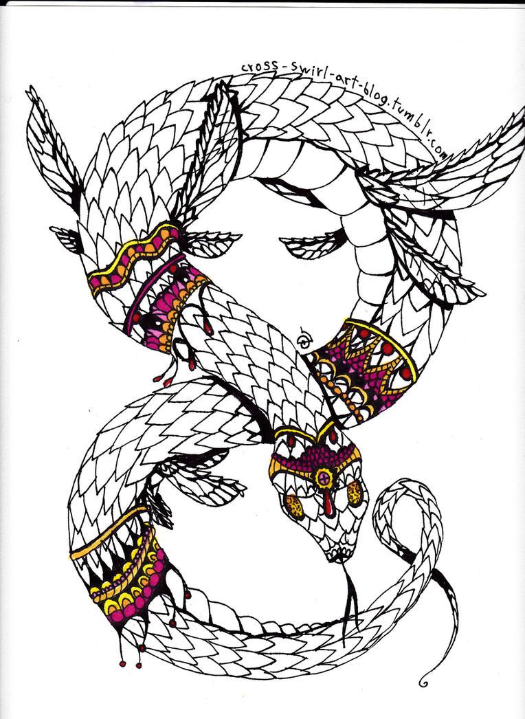 Snakey by cross-the-swirl