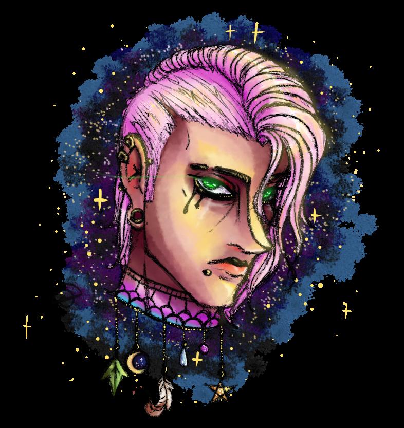 Stardew valley witch boy by cross-the-swirl
