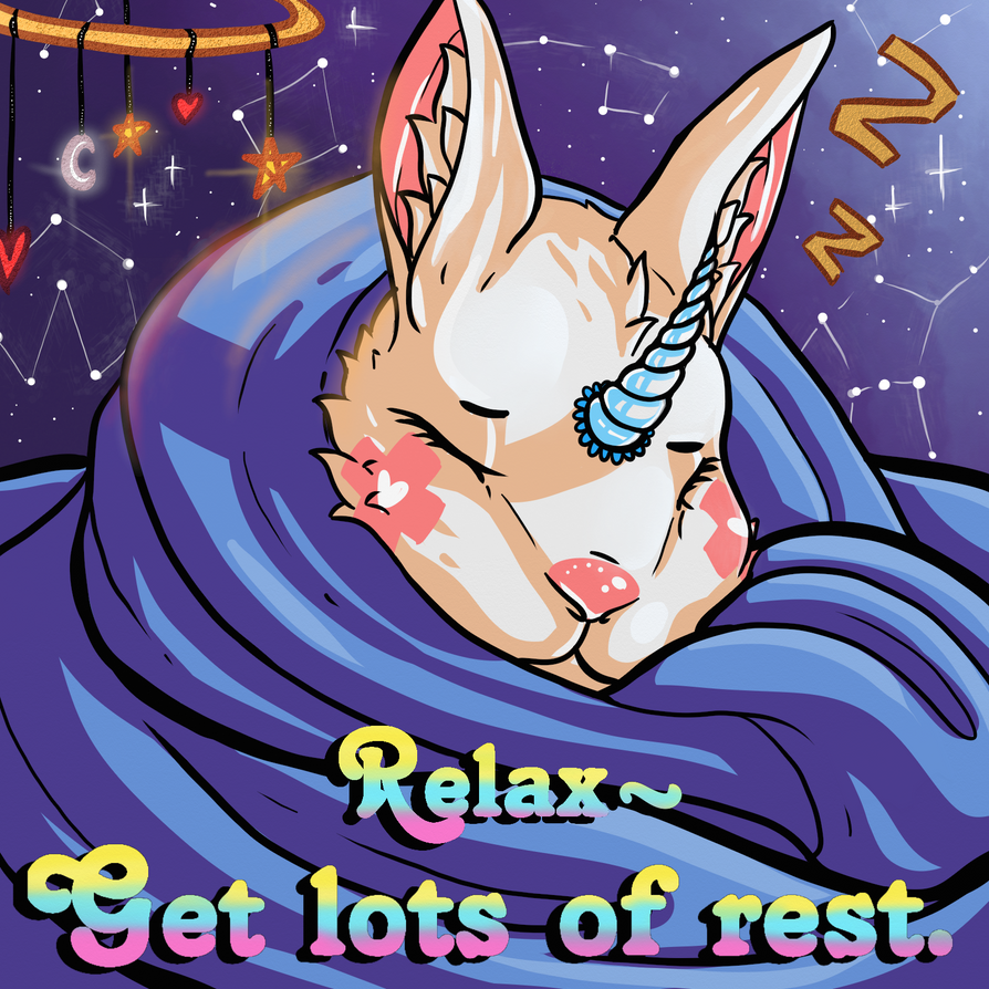Star: get lots of rest. by cross-the-swirl