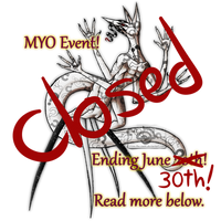 MYO last chance Eye-sore species event! Closed