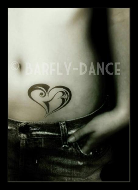Tattoo-Heart by BarflyDance