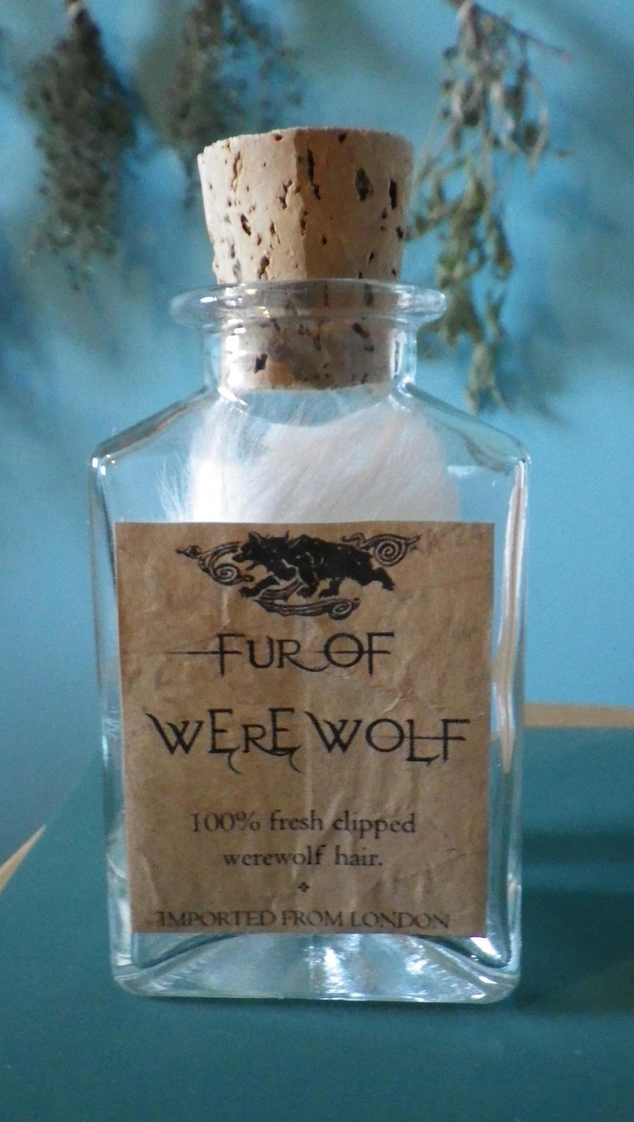Fur of Werewolf by Bwabbit