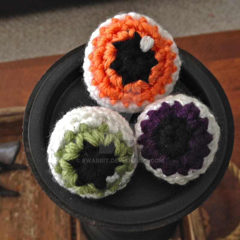 Yarn Eyeball! by Bwabbit